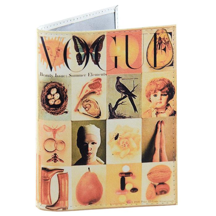 Обложка для паспорта Vogue. OK128OK128Обложка для паспорта Vogue, выполненная из натуральной кожи, оформлена оригинальными изображениями. Такая обложка не только поможет сохранить внешний вид ваших документов и защитит их от повреждений, но и станет стильным аксессуаром, идеально подходящим вашему образу. Яркая и оригинальная обложка подчеркнет вашу индивидуальность и изысканный вкус. Обложка для паспорта стильного дизайна может быть достойным и оригинальным подарком. Характеристики: Материал: натуральная кожа, пластик. Размер (в сложенном виде): 9,5 см х 14 см. Производитель:Россия. Артикул:OK128.