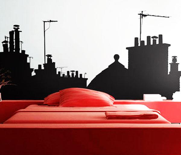 Стикер Paristic На крышах Парижа, вид А, 243 х 170 смПР00171Добавьте оригинальность вашему интерьеру с помощью необычного стикера На крышах Парижа. Изображение на стикере имитирует силуэты домов ночного города, приглашая в путешествие по крышам парижских зданий.Необыкновенный всплеск эмоций в дизайнерском решении создаст утонченную и изысканную атмосферу не только спальни, гостиной или детской комнаты, но и даже офиса. Стикер выполнен из матового винила - тонкого эластичного материала, который хорошо прилегает к любым гладким и чистым поверхностям, легко моется и держится до семи лет, не оставляя следов. Сегодня виниловые наклейки пользуются большой популярностью среди декораторов по всему миру, а на российском рынке товаров для декорирования интерьеров - являются новинкой. Характеристики: Размер стикера: 243 см х 170 см. Размер упаковки:80 см х 11 см х 6 см. Производитель: Франция. Комплектация: виниловый стикер; инструкция. Paristic - это стикеры высокого качества. Художественно выполненные стикеры, создающие эффект обмана зрения, дают необычную возможность использовать в своем интерьере элементы городского пейзажа. Продукция представлена широким ассортиментом - в зависимости от формы выбранного рисунка и от ваших предпочтений стикеры могут иметь разный размер и разный цвет (12 вариантов помимо классического черного и белого). В коллекции Paristic - авторские работы от урбанистических зарисовок и узнаваемых парижских мотивов до природных и графических объектов. Идеи французских дизайнеров украсят любой интерьер: Paristic - это простой и оригинальный способ создать уникальную атмосферу как в современной гостиной и детской комнате, так и в офисе.В настоящее время производство стикеров Paristic ведется в России при строгом соблюдении качества продукции и по оригинальному французскому дизайну.