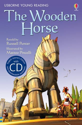 The Wooden Horse. Retold by Russell Punter (Young Reading Series 1 Bk & CD) xingbao 05001 1179pcs genuine creative moc series the city in the sky building blocks bricks educational toys for childrengifts
