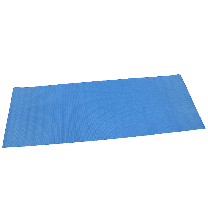 Коврик для фитнеса BradexSF 0010Во время проведения тренировок необходимо помнить о безопасности и комфорте. Коврик Bradex защитит тело от повреждений, например, при занятиях гимнастикой, когда риск травмировать колено или локоть очень высок. Также коврик имеет травмобезопасную, нескользящую поверхность, которая легко моется теплой мыльной водой. Характеристики:Материал: ПВХ. Размер коврика: 173 см х 61 см х 0,5 см. Размер чехла: 65 см х 13,5 см х 13,5 см. Артикул: SF0010. Производитель: Китай.