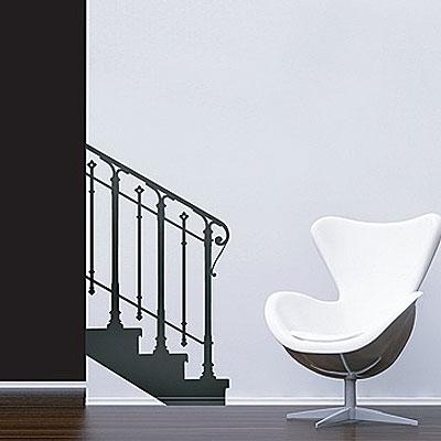 Стикер Paristic Основание лестницы, влево, 65 х 116 смПР00047Добавьте оригинальность вашему интерьеру с помощью необычного стикера Основание лестницы. Изображение на стикере имитирует силуэт лестничного марша с перилами. Необыкновенный всплеск эмоций в дизайнерском решении создаст утонченную и изысканную атмосферу не только спальни, гостиной или детской комнаты, но и даже офиса. Стикер выполнен из матового винила - тонкого эластичного материала, который хорошо прилегает к любым гладким и чистым поверхностям, легко моется и держится до семи лет, не оставляя следов.Сегодня виниловые наклейки пользуются большой популярностью среди декораторов по всему миру, а на российском рынке товаров для декорирования интерьеров - являются новинкой. Характеристики:Материал:винил. Размер стикера: 65 см х 116 см. Размер упаковки:80 см х 11 см х 5,5 см. Производитель: Франция.Комплектация: виниловый стикер; инструкция. Paristic - это стикеры высокого качества. Художественно выполненные стикеры, создающие эффект обмана зрения, дают необычную возможность использовать в своем интерьере элементы городского пейзажа. Продукция представлена широким ассортиментом - в зависимости от формы выбранного рисунка и от Ваших предпочтений стикеры могут иметь разный размер и разный цвет (12 вариантов помимо классического черного и белого). В коллекции Paristic - авторские работы от урбанистических зарисовок и узнаваемых парижских мотивов до природных и графических объектов. Идеи французских дизайнеров украсят любой интерьер: Paristic - это простой и оригинальный способ создать уникальную атмосферу как в современной гостиной и детской комнате, так и в офисе.В настоящее время производство стикеров Paristic ведется в России при строгом соблюдении качества продукции и по оригинальному французскому дизайну.
