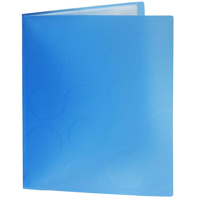 Папка с файлами Omega, 20 листов, цвет: синий0410-0032-03Стильная папка Omega с файлами, выполненная из плотного полупрозрачного пластика синего цвета, станет незаменимым деловым аксессуаром. Папка оснащена 20 файлами для хранения документов и листов. Каждый файл обладает текстурной поверхностью, которая позволяет легко и быстро его открыть. Декоративный принт на обложке создаст яркий акцент на вашем рабочем столе.Характеристики:Размер папки: 23,5 см х 1,5 см х 30,5 см. Вместимость: 20 файлов. Цвет: синий.