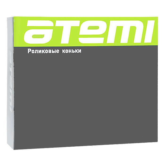 Коньки роликовые Atemi Red, цвет:  красный, черный, серый.  X5 man.  Размер 46 Atemi