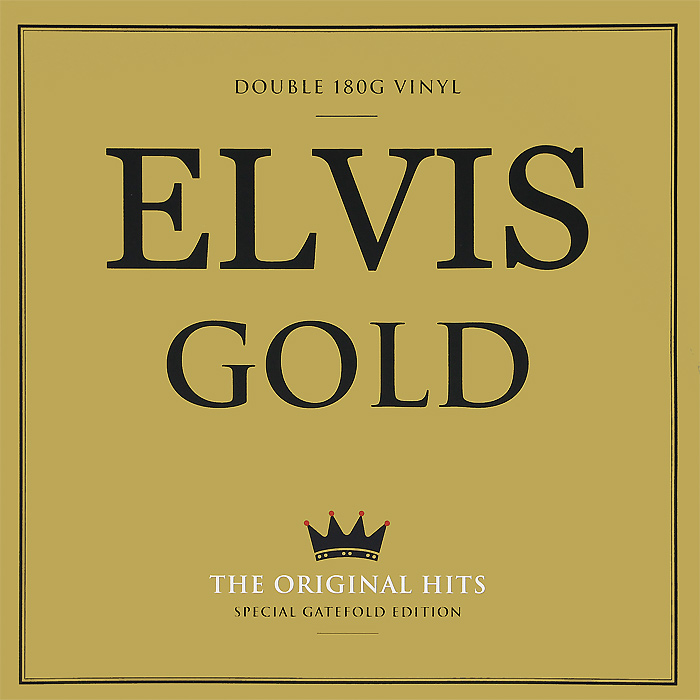 Элвис Пресли Elvis Presley. Elvis Gold. Special Gateford Edition (2 LP) not now bernard