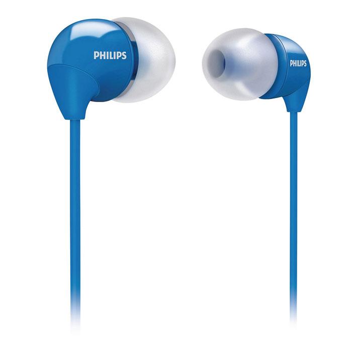 Philips SHE3590BL/10SHE3590BL/10Маленькие громкие динамики наушников-вкладышей Philips SHE3590 обеспечивают плотное прилегание и чистый звук с мощными басами. Идеальны для наслаждения любимой музыкой.В комплект входит 3 резиновых накладки разного размера, и вы гарантированно подберете пару, которая идеально подходит к вашим ушам. Крохотные излучатели обеспечивают плотность прилегания и полностью заполняют ушную раковину, что заглушает внешние источники звука и увеличивает впечатления от прослушивания. Мягкий резиновый сгиб между наушником и кабелем защищает соединение от разрыва при постоянном сгибании и продлевает срок службы.