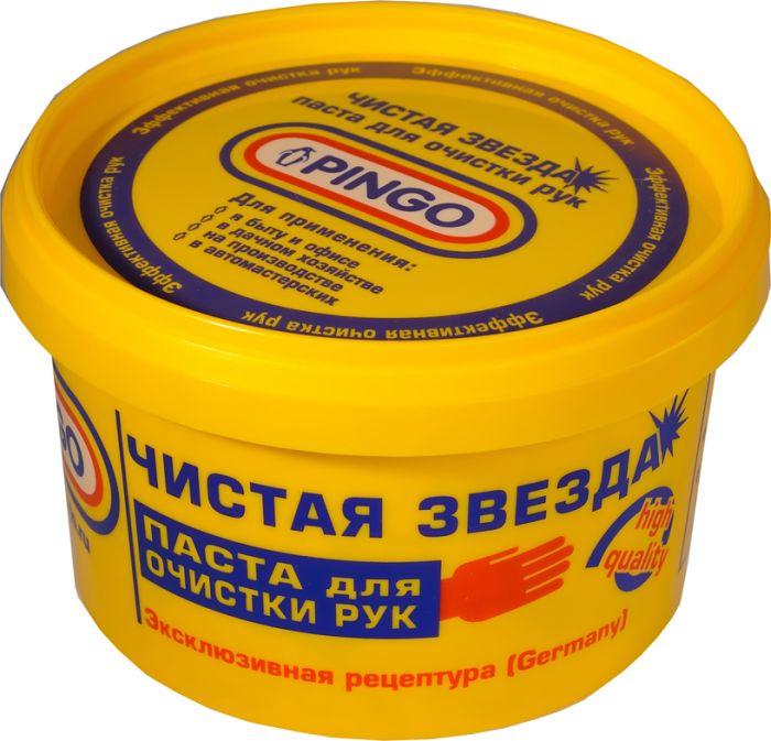 Паста для очистки рук Чистая звезда, 650 мл85010-1Паста для очистки рук Чистая звезда - это нейтральное средство для эффективной очистки и удаления масла, жира, типографской краски, плиточного клея, битума, антикоррозийных материалов и других загрязнений с кожи рук. Обладает антисептическим действием, не сушит кожу рук и не вызывает аллергических реакций. Значительно экономичней мыла и других моющих средств. Способ применения: Возьмите 2-3 г средства, тщательно разотрите, смойте водой. Характеристики:Объем:650 мл. Производитель: Германия. Артикул: 85010-1.