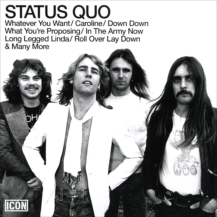 Status Quo Status Quo. Icon status quo status quo piledriver deluxe edition 2 cd