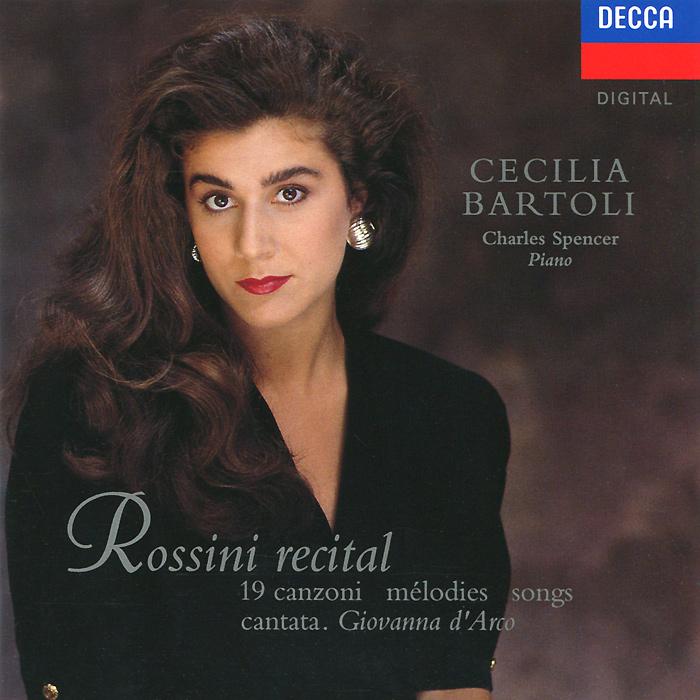 Чечилия Бартоли,Чарльз Спенсер Cecilia Bartoli. Rossini Recital. Charles Spencer цены онлайн