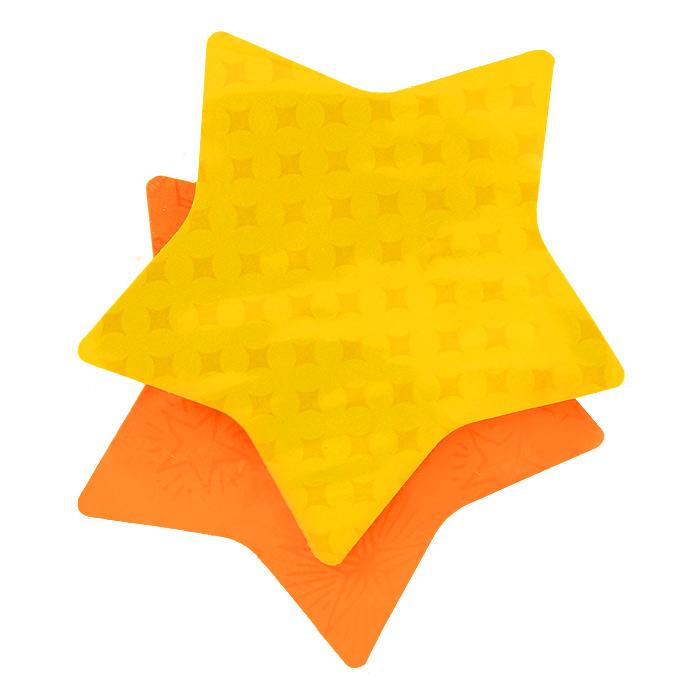 Бумага для заметок Post-it Звезда, с липким слоем, 150 листов7350-STR**Фигурная клейкая бумага для заметок Post-it Звезда подчеркнет вашу индивидуальность! Яркие цвета, форма звездочки, фоновые рисунки на каждом листочке - такое сообщение невозможно не заметить. Несмотря на это, они приклеиваются также хорошо, как традиционные.Комплект включает два блока листов в форме звезды желтого и оранжевого цветов. Каждый блок содержит 75 листов.Характеристики:Размер листа: 7,3 см х 7,1 см. Количество: 150 листов.