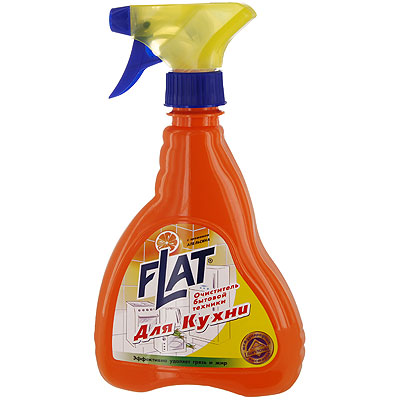 Очиститель Flat для кухонной бытовой техники, с ароматом апельсина, 480 г аксессуары для кухонной техники тайфун аксессуар для кухонной техники