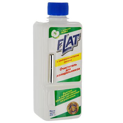 Очиститель для холодильников Flat, с ароматом яблока, 400 г поглотитель запаха для холодильников selena