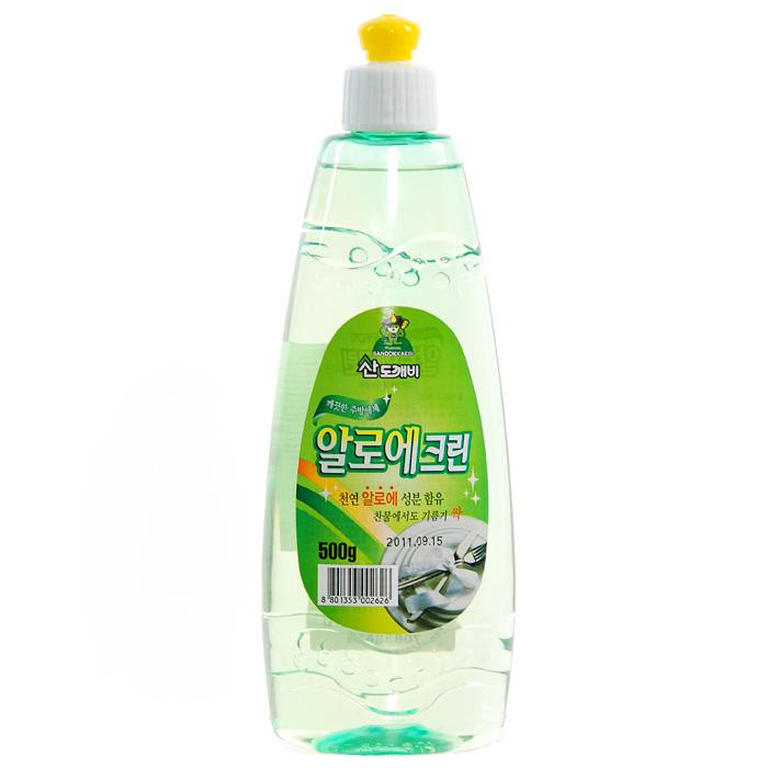 Гель для мытья посуды Aloe Clean, 500 г2626Гель Aloe Clean предназначен для мытья посуды и кухонных принадлежностей. Он обладает превосходной моющей силой. Экстракт Алоэ, входящий в состав, защищает и увлажняет кожу. Гель образует обильную пену, которая легко смывается при ополаскивании. Средство имеет нейтральный РН.Эргономичный флакон снабжен удобным дозатором, который позволит вам легко и экономично наносить раствор на губку. Характеристики:Вес: 500 г. Производитель: Корея. Товар сертифицирован.Как выбрать качественную бытовую химию, безопасную для природы и людей. Статья OZON Гид