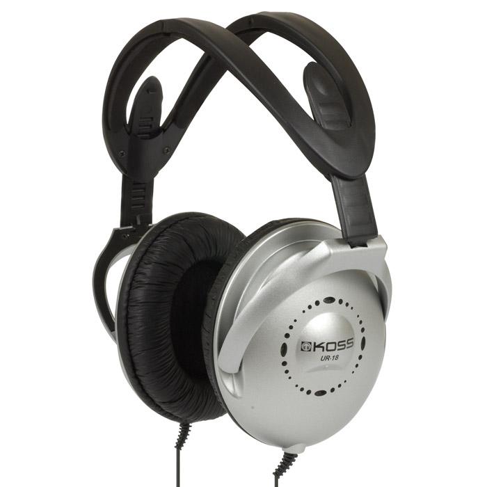 Koss UR1817100082Лёгкость, прочность, комфорт, максимальная точность и яркость звучания - вот отличительные черты данной модели. Закрытое акустическое оформление Koss UR18 обеспечивает прекрасное воспроизведение басовой октавы и хорошую звукоизоляцию. Подстраиваемое виниловое оголовье позволяет добиться максимального комфорта при длительном ношении наушников. А складная конструкция позволяет удобно перевозить Koss UR18 в путешествиях или в поездках по городу.