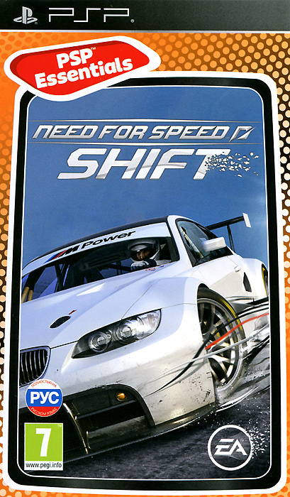 Need for Speed SHIFT. Essentials (PSP)
