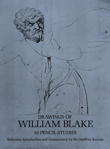 цена на Drawings of William Blake: 92 Pencil Studies (Dover Fine Art, History of Art)