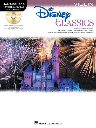 Disney Classics For Violin: Instrumental Play-Along CD/Pkg Уцененный товар (№1) survival nylon bracelet with whistle camouflage