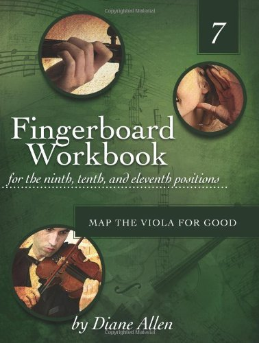 Fingerboard Workbook for the Ninth, Tenth and Eleventh Positions: Map the Viola for Good: Volume 7 astonvilla 702 rosin for violin viola cello