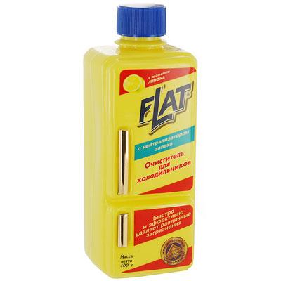 Очиститель для холодильников Flat, с ароматом лимона, 400 г поглотитель запаха для холодильников selena
