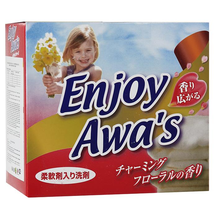 Стиральный порошок Enjoy Awars, со смягчителем, 900 г303257Стиральный порошок Enjoy Awars предназначен для стирки хлопчатобумажных, льняных и синтетических тканей. Средство превосходно справляется с загрязнениями и наполняет ваши вещи необыкновенной свежестью.Подходит для ручной и машинной стирки. Характеристики:Вес: 900 г. Изготовитель:Вьетнам. Товар сертифицирован.УВАЖАЕМЫЕ КЛИЕНТЫ!Обращаем ваше внимание на возможные изменения в дизайне упаковки. Поставка осуществляется в зависимости от наличия на складе.