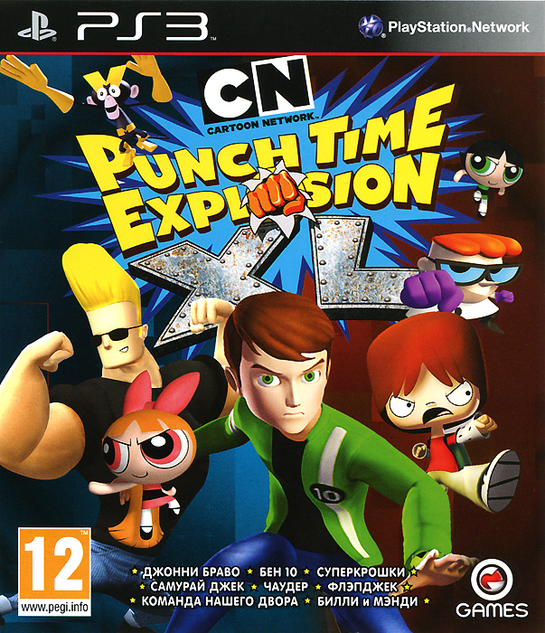 Cartoon Network. Punch Time Explosion XL (PS3)