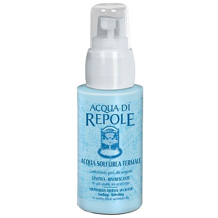 Сернистая термальная вода-спрей Frais Monde Acqua Di Repole, 50 млAR501Сернистая термальная вода-спрей Frais Monde Acqua Di Repole из источника Repole (Италия) прекрасно освежит и увлажнит кожу во время пребывания на солнце, снимет раздражение чувствительной кожи, поможет при лечении акне, успокоит кожу после эпиляции и процедуры бритья, подойдет для ухода за нежной детской кожей.Обладает увлажняющим, смягчающим, тонизирующим, освежающим и успокаивающим действием.Благодаря особой системе разбрызгивания dы ощутите на своей коже россыпь мельчайших капель освежающей влаги, а макияж останется в полном порядке! Особая технология упаковки исключает контакт сернистой термальной воды с внешними агентами, что позволяет сохранить все ее природные целебные свойства.Не содержит пропеллент. Способ применения: распылить термальную воду на лицо или тело с расстояния 20-30 см, оставить на некоторое время до полного впитывания, остатки аккуратно промокнуть сухой салфеткой. Для снятия макияжа - обильно распылить спрей на лицо, затем аккуратно удалить макияж с помощью салфетки или ватного диска. При необходимости повторить процедуру.Характеристики:Объем: 50 мл. Производитель: Италия.Итальянская компанияISMEG Srlпоявилась, благодаря принадлежащему ей термальному источнику, богатому серой. Компания придерживается традиции производства высококачественной продукции, ее миссия - обновлять производство, но сохранять естественные неповрежденные формулы. Компанию отличают глубокие исследования в области косметики и страсть к развитию природных ресурсов. Товар сертифицирован.
