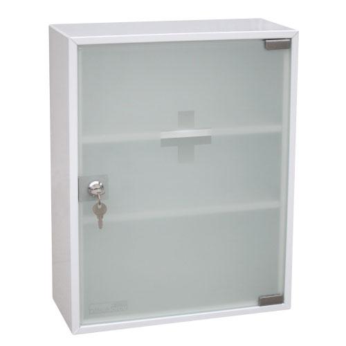 Шкаф для медикаментов Office-Force, одностворчатый20097Шкаф-аптечка Office-Force является предметом первой необходимости - будь то дом, небольшой офис или промышленное предприятие. Стальной корпус покрашен методом напыления краски в серый цвет. Плотно запирающаяся на никелированный замокматовая стеклянная дверца ограждает содержимое шкафа от проникновения пыли и загрязнителей. На дверце имеется знак медицинского креста. Внутри две полочки. Аптечка крепится на стене при помощи шурупов (в комплекте). Характеристики: Размер шкафа:36 см х 15 см х 45 см. Размер упаковки:36,5 см х 16 см х 46 см. Изготовитель:Китай.
