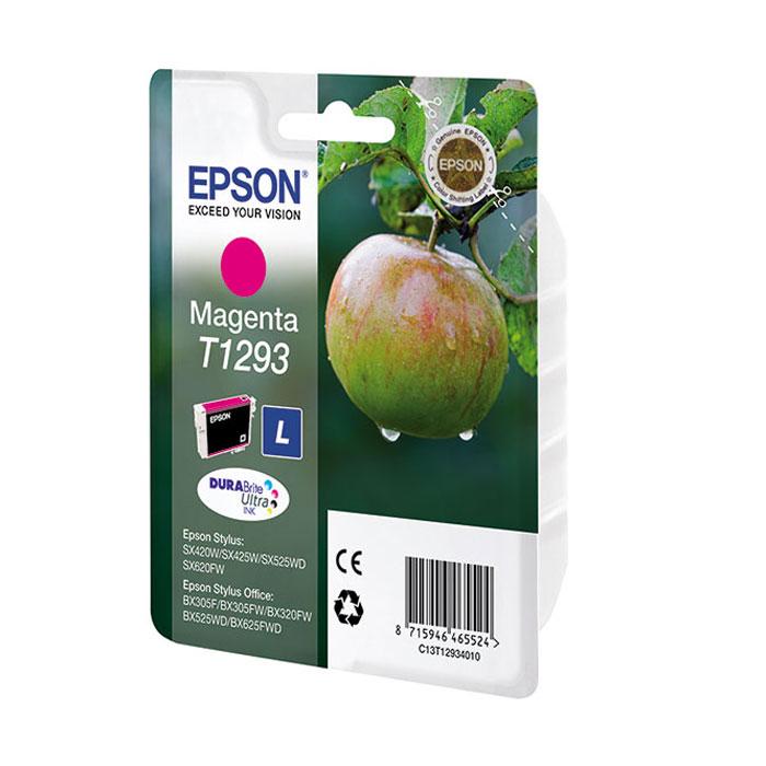 Epson T1293 (C13T12934012), MagentaC13T12934012Картридж повышенной емкости Epson.