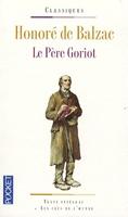 Le Pere Goriot honore de balzac le pere goriot