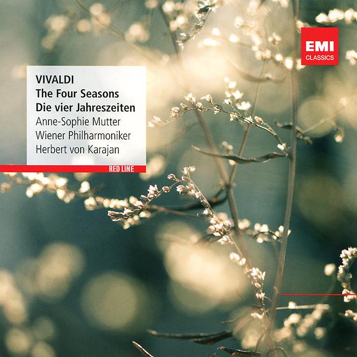 Анна-Софи Муттер,Герберт Караян Anne-Sophie Mutter, Herbert Von Karajan. Vivaldi. The Four Seasons anne sophie mutter anne sophie mutter carmen fantasie