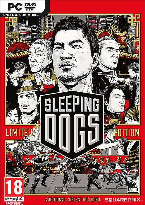 Sleeping Dogs. Limited Edition (DVD-BOX), United Front Games,Square Enix London Studios