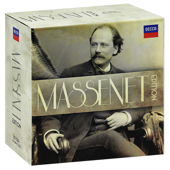 Фото - Massenet Edition (23 CD) андрэ рье andre rieu dreaming