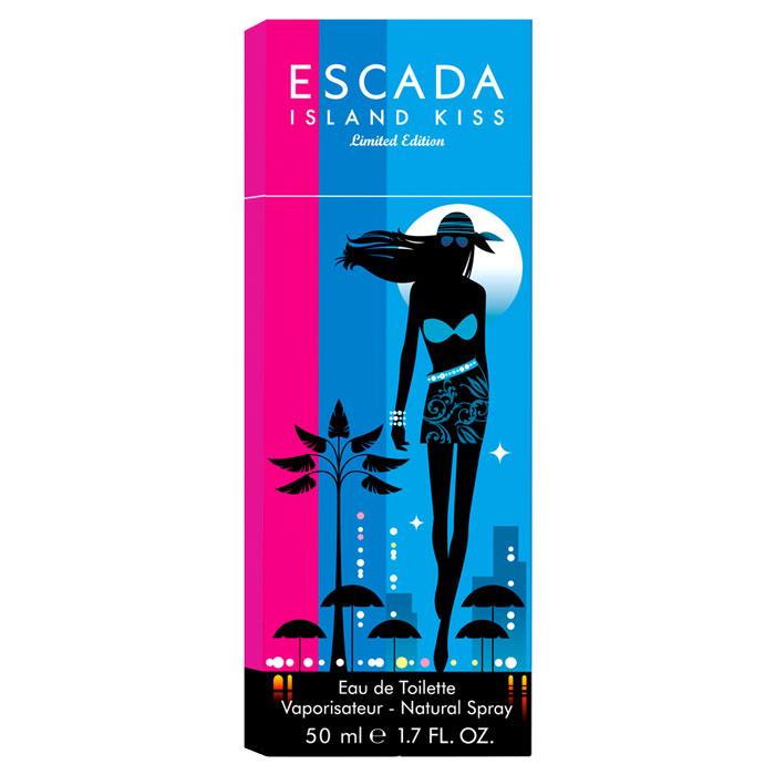 Escada Island Kiss. Туалетная вода, 50 млESCq00065Аромат Escada Island Kiss напоминает о беззаботных летних днях на пляже или яхте, о теплых романтических летних ночах, в тоже время он теплый, экзотический и сексуальный. Аромат открывается с цветочных нот магнолии и букета белых цветов, переходя в тонизирующие ноты сердца из белого персика и гибискуса. Динамизм композиции смягчен нежными и чувственными нотами белого дерева и мускуса, создающими атмосферу легкости и беззаботности.Классификация аромата: цветочный. Пирамида аромата:Верхние ноты: магнолия, белые цветы, манго, апельсин, малина и маракуйя.Ноты сердца: роза, красные фрукты, белый персик и гибискус.Ноты шлейфа: мускус и сандаловое дерево. Ключевые слова:Дерзкий, свежий, экзотический, энергичный! Характеристики:Объем: 50 мл. Производитель: Великобритания. Туалетная вода - один из самых популярных видов парфюмерной продукции. Туалетная вода содержит 4-10%парфюмерного экстракта. Главные достоинства данного типа продукции заключаются в доступной цене, разнообразии форматов (как правило, 30, 50, 75, 100 мл), удобстве использования (чаще всего - спрей). Идеальна для дневного использования. Товар сертифицирован.