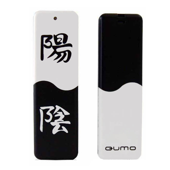 QUMO Yin&Yan, 16GBQM16GUD-Y&YФлэш-накопитель QUMO Yin&Yan отличается оригинальным дизайном с символикой «Инь и Ян», помещает портативную память в руки каждого пользователя, надёжный и удобный, обладает высокой производительностью и достигает скоростей чтения, сопоставимых с пропускной способностью интерфейса USB 2.0. Это означает, что теперь ваши файлы будут копироваться на ПК практически мгновенно. Идеально подходит для записи любой информации, надёжно сохраняет и передаёт важные данные, песни, снимки. Также у данной модели есть механическая блокировка записи.