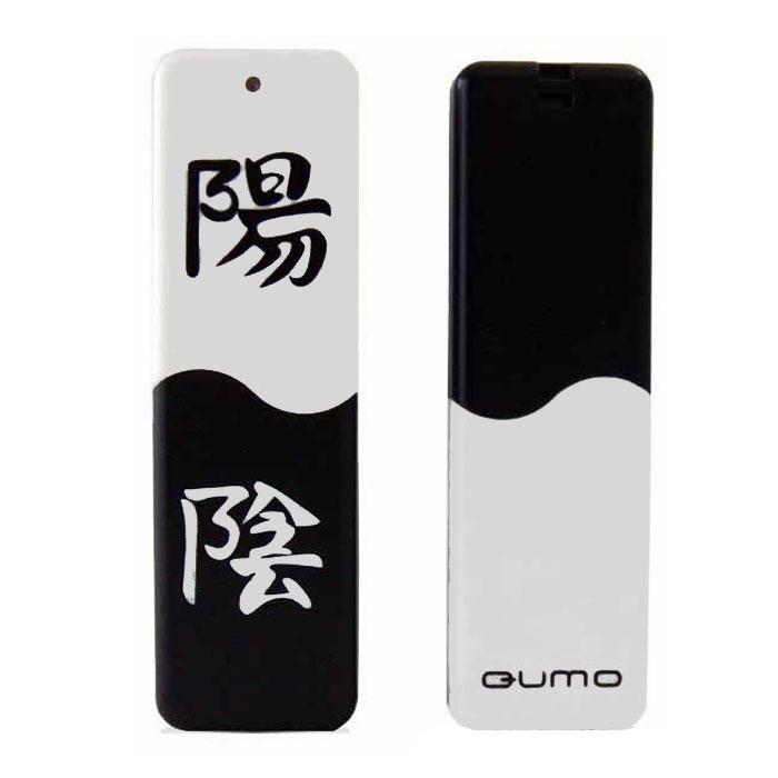 QUMO Yin&Yan, 8GBQM8GUD-Y&YФлэш-накопитель QUMO Yin&Yan отличается оригинальным дизайном с символикой «Инь и Ян», помещает портативную память в руки каждого пользователя, надёжный и удобный, обладает высокой производительностью и достигает скоростей чтения, сопоставимых с пропускной способностью интерфейса USB 2.0. Это означает, что теперь ваши файлы будут копироваться на ПК практически мгновенно. Идеально подходит для записи любой информации, надёжно сохраняет и передаёт важные данные, песни, снимки. Также у данной модели есть механическая блокировка записи.