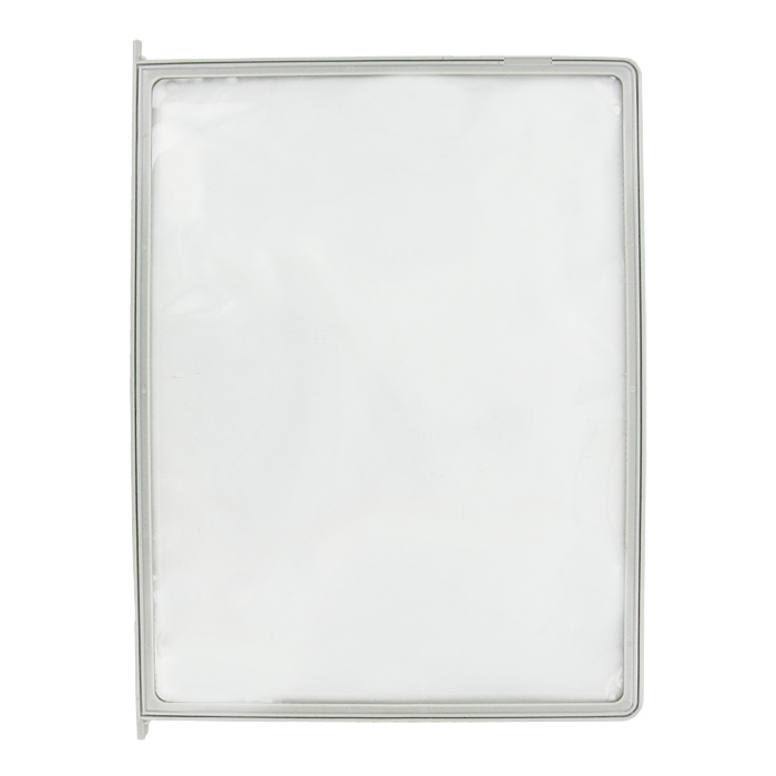 Демонстрационная панель Index, цвет: серый, А4IDP010/GYСменная демонстрационная панель Index выполнена в виде папки-уголка и идеально подходит для предоставления различных брошюр. Папка обеспечивает быстрый доступ к документам. Панель выполнена из экологически-чистого материала и совместима с другими демонстрационными системами Index.Характеристики:Материал: полипропилен. Цвет: серый. Размер: 23 см х 31 см. Изготовитель: Китай.