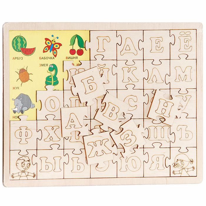 Мастер Вуд Развивающая игра Изучаем алфавит
