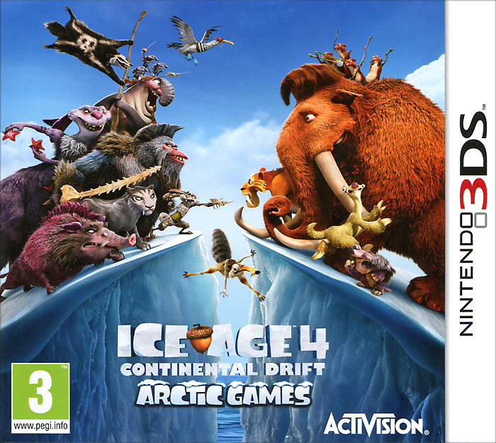 Ice Age 4: Continental Drift. Arctic Games (3DS)