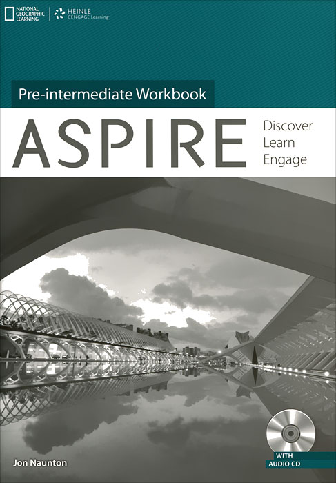 Aspire Pre-Intermediate Workbook (+ CD-ROM) total english pre intermediate students book dvd rom