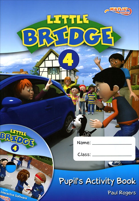 Little Bridge 4: Pupil's Activity Book the little book of batman