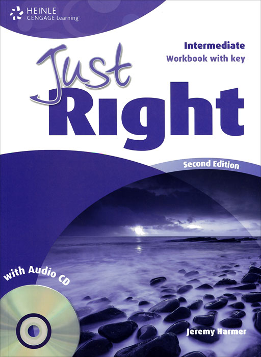 Just Right: Workbook with Key: Intermediate (+ CD) new total english intermediate workbook with key cd
