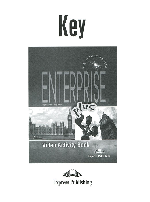 Jenny Dooley, Virginia Evans Enterprise plus: video activity book: key draw it london activity book