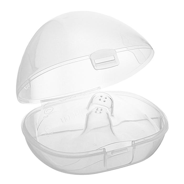 PIGEON Защитные накладки на соски, размер M, 2шт -  Уход и гигиена