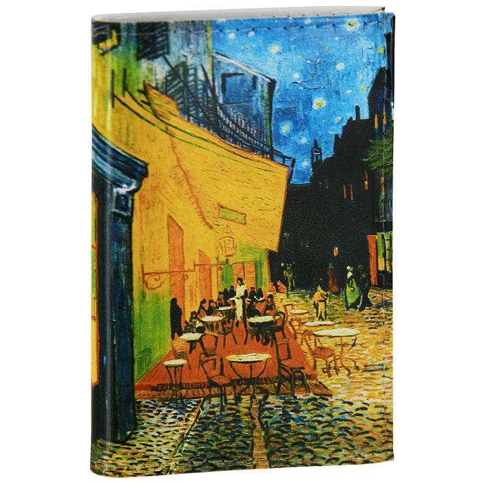 Визитница Ван Гог Терраса кафе ночью. VIZIT-029 визитница mitya veselkov ван гог терраса кафе ночью