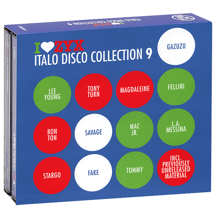 Italo Disco Collection 9 (3 CD) roxanne джо локвуд cyber people hypnosis tommy candy belle сюзанна милс italo disco collection 16 3 cd page 9