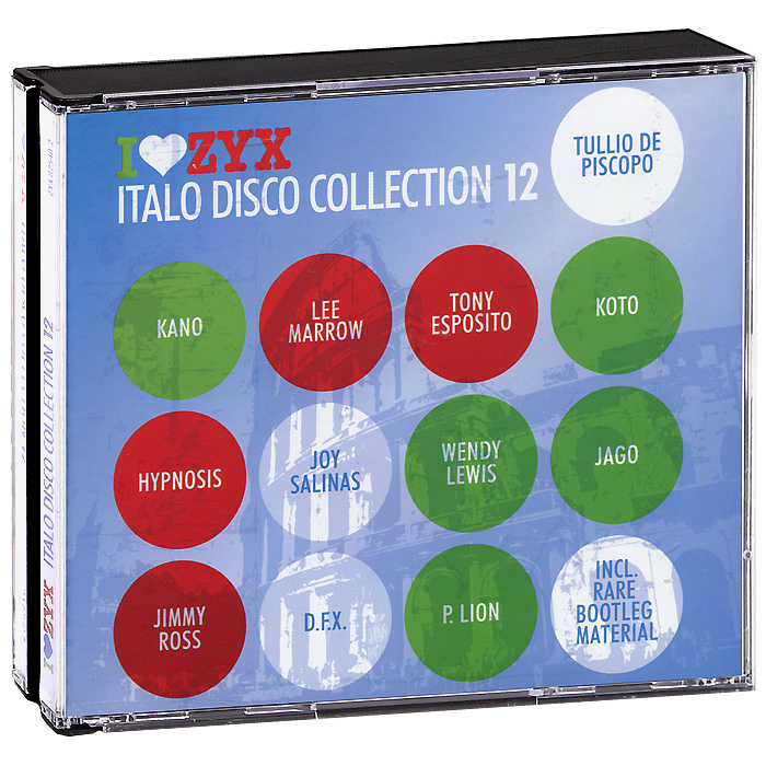 Italo Disco Collection 12 (3 CD) михаель бедфорд клифф тернер майк мэрин пэтти райан solid strangers джо локвуд italo disco collection 3 3 cd