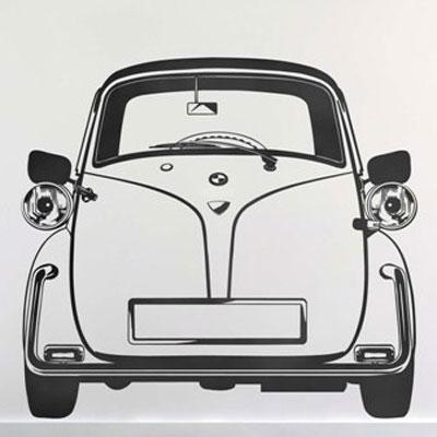 Стикер Paristic Изетта, цвет: черный, 72 х 80 смВ2007Стикер Paristic Изетта - это уникальная возможность создать неповторимый индивидуальный облик интерьера вашего дома. Стикер с изображением силуэта старинного автомобиля в анфас выполнен из матового винила - тонкого эластичного материала, который хорошо прилегает к любым гладким и чистым поверхностям, легко моется и держится до семи лет, при снятии не оставлет следов. Такой оригинальный элемент декора придаст интерьеру креативность и новое настроение и станет великолепным украшением, притягивающим заинтересованные взгляды окружающих.В комплекте со стикером предусмотрена подробная инструкция по наклеиванию (на русском языке). Характеристики: Материал:винил. Цвет:черный. Размер стикера (В х Ш): 72 см х 80 см. Размер упаковки: 79 см х 11 см x 6 см. Производитель: Франция. Paristic - это стикеры высокого качества. Художественно выполненные стикеры, создающие эффект обмана зрения, дают необычную возможность использовать в своем интерьере элементы городского пейзажа. Продукция представлена широким ассортиментом - в зависимости от формы выбранного рисунка и от Ваших предпочтений стикеры могут иметь разный размер и разный цвет (12 вариантов помимо классического черного и белого). В коллекции Paristic - авторские работы от урбанистических зарисовок и узнаваемых парижских мотивов до природных и графических объектов. Идеи французских дизайнеров украсят любой интерьер: Paristic -это простой и оригинальный способ создать уникальную атмосферу как в современной гостиной и детской комнате, так и в офисе.В настоящее время производство стикеров Paristic ведется в России при строгом соблюдении качества продукции и по оригинальному французскому дизайну.