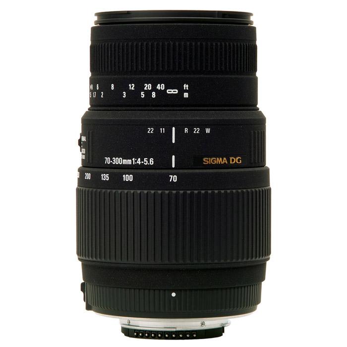 Sigma AF 70-300mm F4-5.6 DG MACRO, CanonA17EДлиннофокусный зум-объектив с функцией макросъемки Sigma AF 70-300mm F4-5.6 DG MACRO. Объектив идеально подходит для съемки портретов, спортивных событий и природы.Используемые технологии:DG - Светосильные широкоугольные объективы для цифровых и пленочных камер, позволяют сфокусироваться с минимальным расстоянием до объекта съемки.