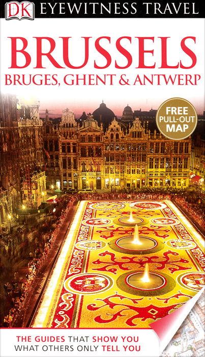 Brussels, Bruges, Ghent & Antwerp brussels city street map