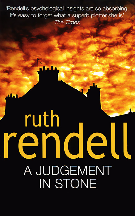 A Judgement in Stone rendell ruth the girl next door