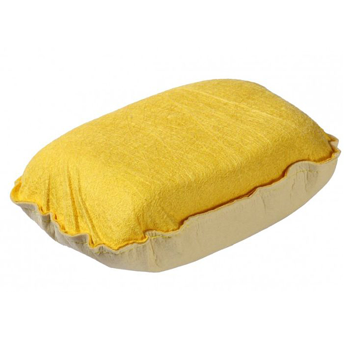 Губка для стекол Pingo, цвет: белый, желтый
